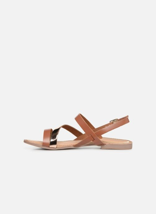 Sandales et nu-pieds Gioseppo 47798 Marron vue face