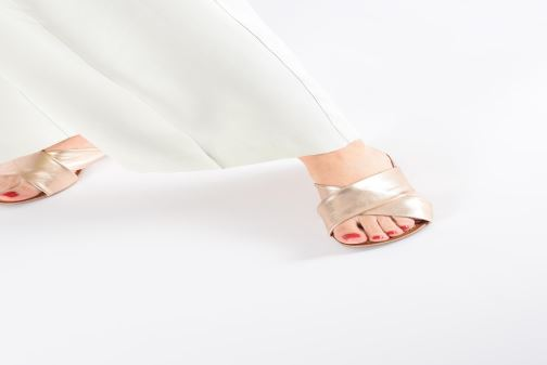 Mules & clogs Gioseppo 48803 Pink view from underneath / model view