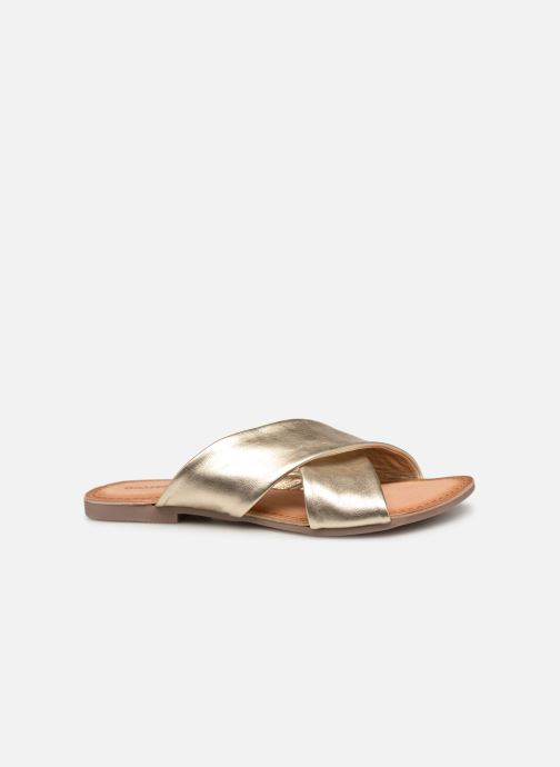 Mules & clogs Gioseppo 48803 Bronze and Gold back view