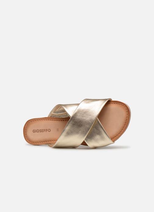 Clogs & Pantoletten Gioseppo 48803 gold/bronze ansicht von links