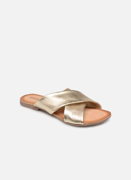 Clogs & Pantoletten Gioseppo 48803 gold/bronze detaillierte ansicht/modell