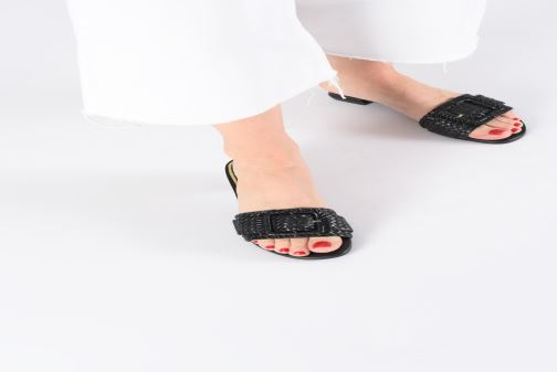 Mules & clogs Gioseppo 48320 Black view from underneath / model view