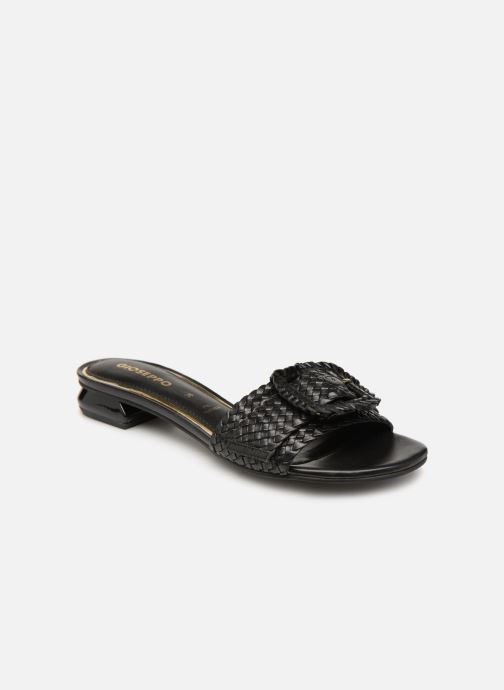 Mules & clogs Gioseppo 48320 Black detailed view/ Pair view