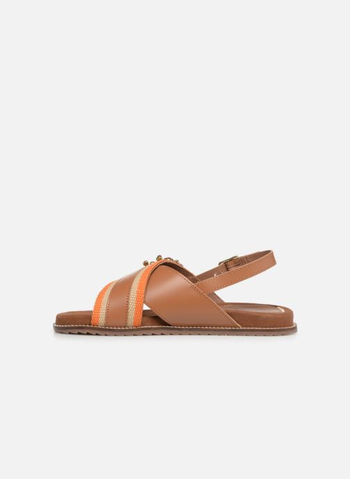 Sandals Gioseppo 49042 Brown front view