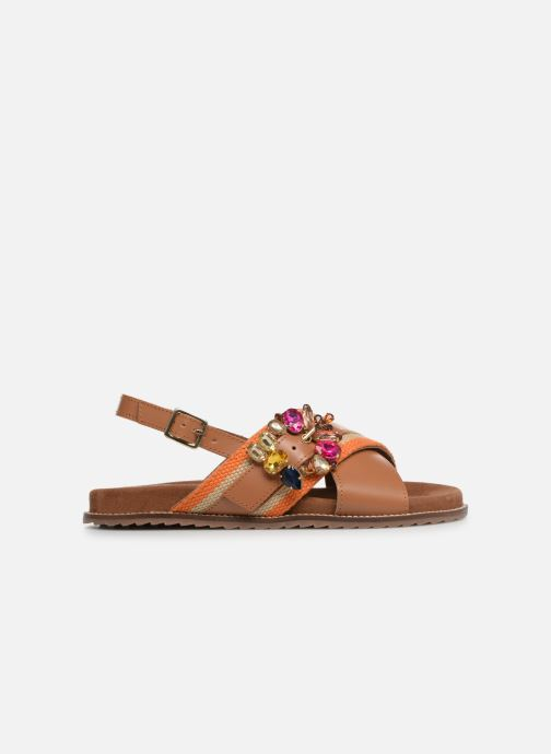 Sandals Gioseppo 49042 Brown back view