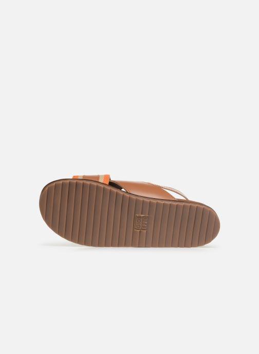 Sandales et nu-pieds Gioseppo 49042 Marron vue haut