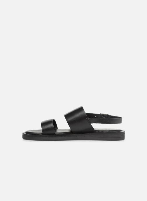 Sandales et nu-pieds Gioseppo 49036 Noir vue face