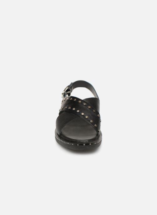 Sandales et nu-pieds Gioseppo 49034 Noir vue portées chaussures