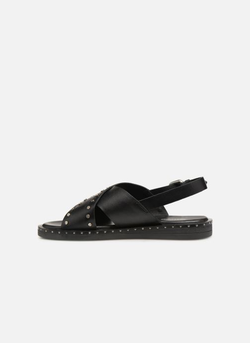 Sandals Gioseppo 49034 Black front view