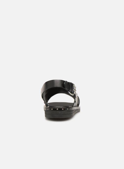 Sandales et nu-pieds Gioseppo 49034 Noir vue droite