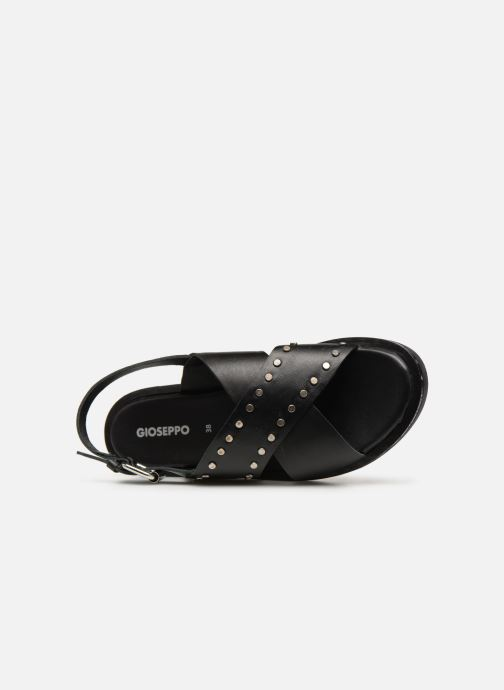 Sandals Gioseppo 49034 Black view from the left