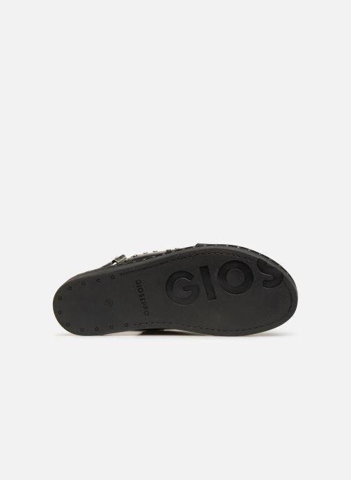 Sandales et nu-pieds Gioseppo 49034 Noir vue haut