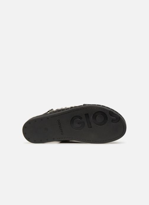 Sandals Gioseppo 49034 Black view from above