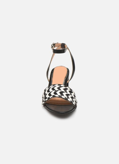 Sandalen Gioseppo 48834 schwarz schuhe getragen