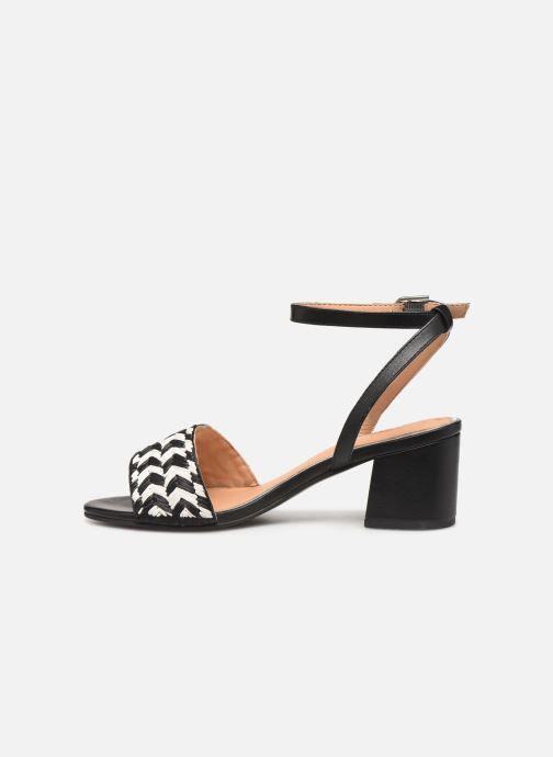 Sandales et nu-pieds Gioseppo 48834 Noir vue face