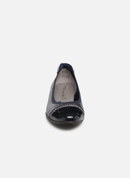 Ballerines Tamaris Alexandra Bleu vue portées chaussures