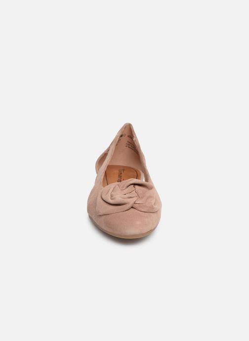Ballerines Tamaris Amalia Rose vue portées chaussures