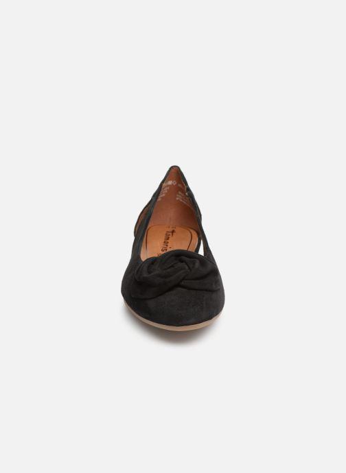 Ballerines Tamaris Amalia Noir vue portées chaussures