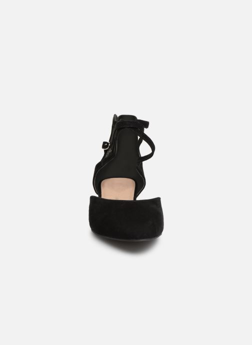 Ballerines Tamaris Annemary Noir vue portées chaussures