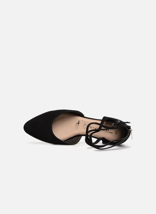 Ballet pumps Tamaris Annemary Black view from the left