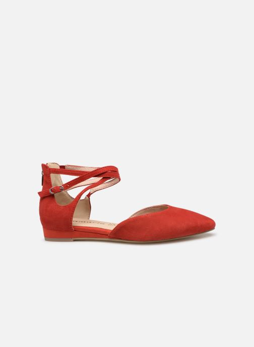 Ballet pumps Tamaris Annemary Red back view