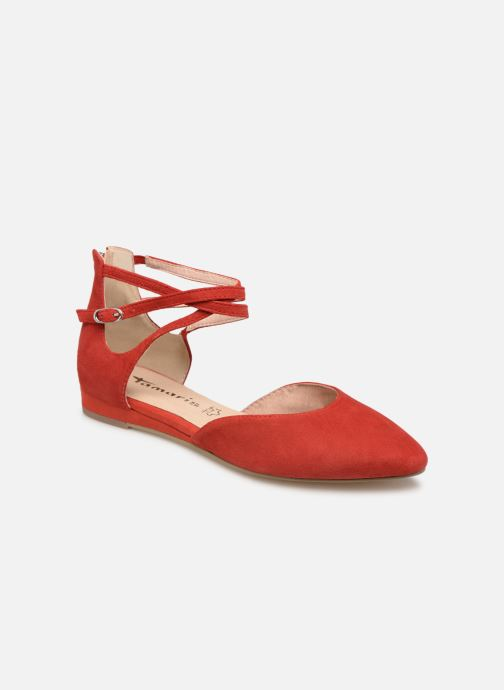 Ballet pumps Tamaris Annemary Red detailed view/ Pair view