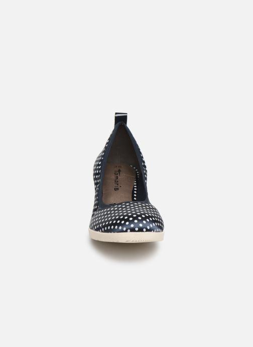 Escarpins Tamaris Hannah Bleu vue portées chaussures