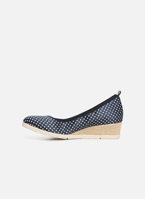 Zapatos de tacón Tamaris Hannah Azul vista de frente