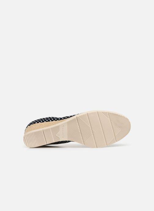 Zapatos de tacón Tamaris Hannah Azul vista de arriba