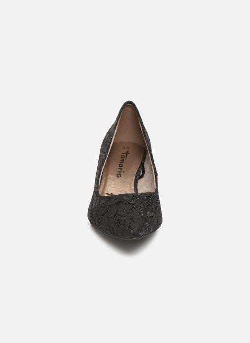 Zapatos de tacón Tamaris Hanne Negro vista del modelo