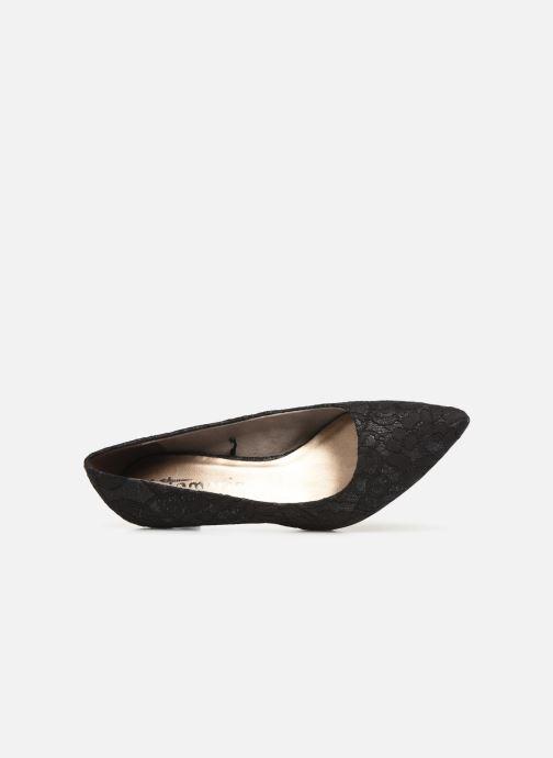 Zapatos de tacón Tamaris Hanne Negro vista lateral izquierda