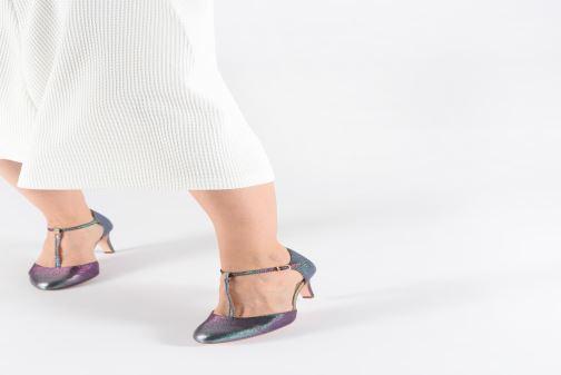 High heels Tamaris Lene Multicolor view from underneath / model view