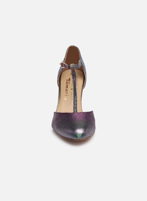 Escarpins Tamaris Lene Multicolore vue portées chaussures
