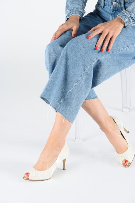 Zapatos de tacón Tamaris Magda Blanco vista de abajo