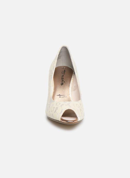 Zapatos de tacón Tamaris Magda Blanco vista del modelo