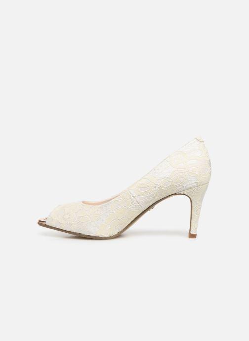 Zapatos de tacón Tamaris Magda Blanco vista de frente