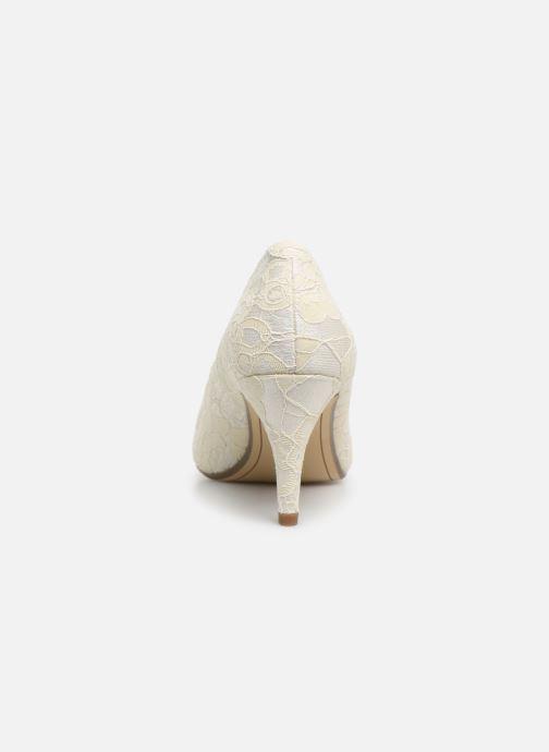 Zapatos de tacón Tamaris Magda Blanco vista lateral derecha