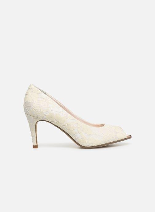 Zapatos de tacón Tamaris Magda Blanco vistra trasera