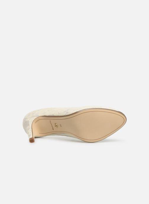 Zapatos de tacón Tamaris Magda Blanco vista de arriba
