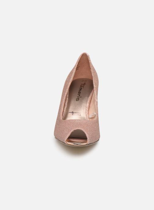 Escarpins Tamaris Magda Rose vue portées chaussures