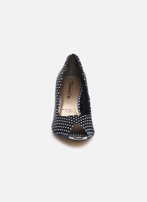 Escarpins Tamaris Magda Bleu vue portées chaussures