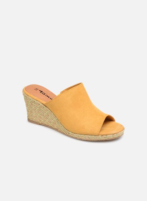 Clogs & Pantoletten Tamaris Franzi gelb detaillierte ansicht/modell