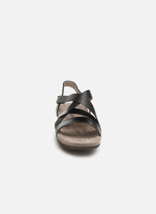 Sandales et nu-pieds Tamaris Margarete Noir vue portées chaussures