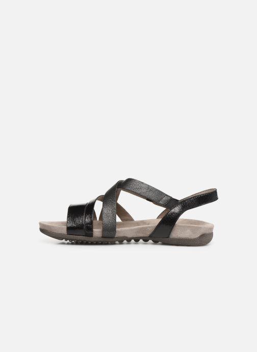 Sandales et nu-pieds Tamaris Margarete Noir vue face