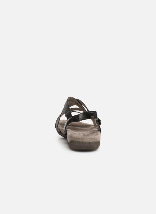 Sandales et nu-pieds Tamaris Margarete Noir vue droite