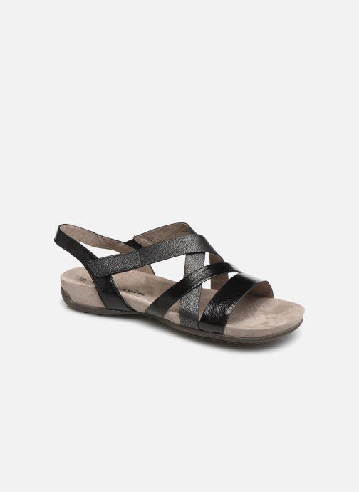 Sandales et nu-pieds Tamaris Margarete Noir vue détail/paire