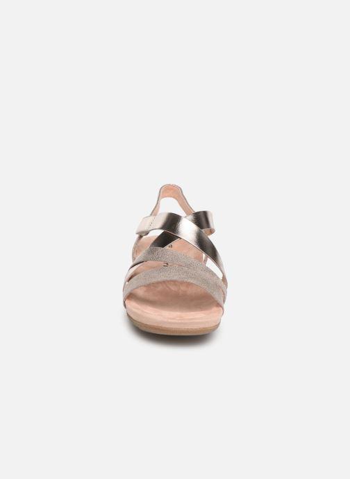 Sandales et nu-pieds Tamaris Margarete Rose vue portées chaussures