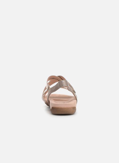 Sandales et nu-pieds Tamaris Margarete Rose vue droite