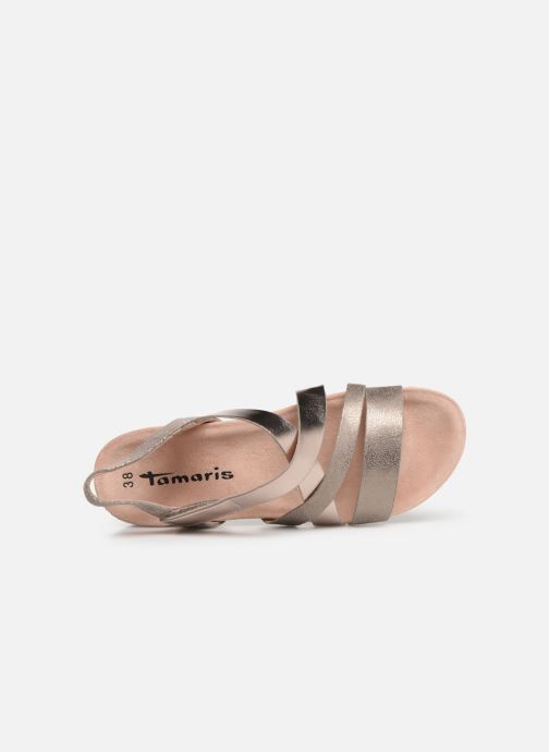 Sandales et nu-pieds Tamaris Margarete Rose vue gauche