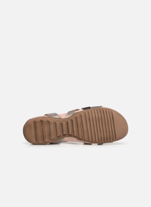 Sandales et nu-pieds Tamaris Margarete Rose vue haut